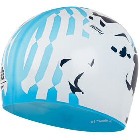 speedo Slogan Cappello con stampa Bambino, blue/white/grey